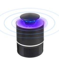 USB Lámpara del asesino del Mosquito del Photocatalyst silencioso mosquitos inhalantes trampa de luz UV matar receptor llevó Zapper luz para el hogar