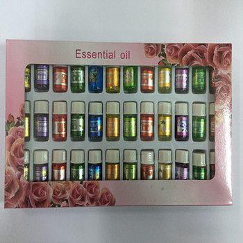 Welove soluble dans l'eau d'huile Essentielle, 36 bouteilles de huiles colorées, aromathérapie huiles saveur 36 pcs Soins Du Corps massage, SPA Parfums