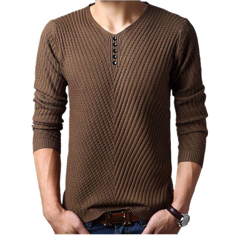 M-4XL Зима Хенли Средства ухода за кожей шеи свитер Для мужчин кашемировый пуловер Рождественский свитер Для мужчин S трикотажные Свитеры для ...