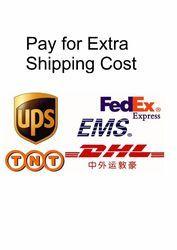 Tarifa adicional para el envío del aire para los artículos especificados o pedidos.