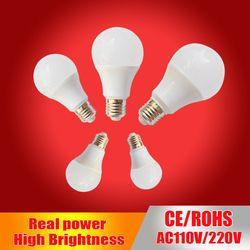 Lâmpada Led E27 Conduziu a Lâmpada 220 V 230 V 240 V Led Light Bulb 3 W 5 W 7 W 9 W 12 W 15 W SMD2835 lampadas levou Para Casa Iluminação Interior