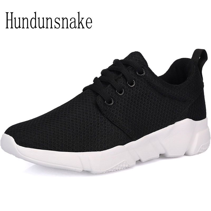 Hundunsnake Running Shoes For Men Women Sneakers 2017 Sport Mesh Breathable Jogging Gym Runes Male Krasovki Adult Gumshoes T295