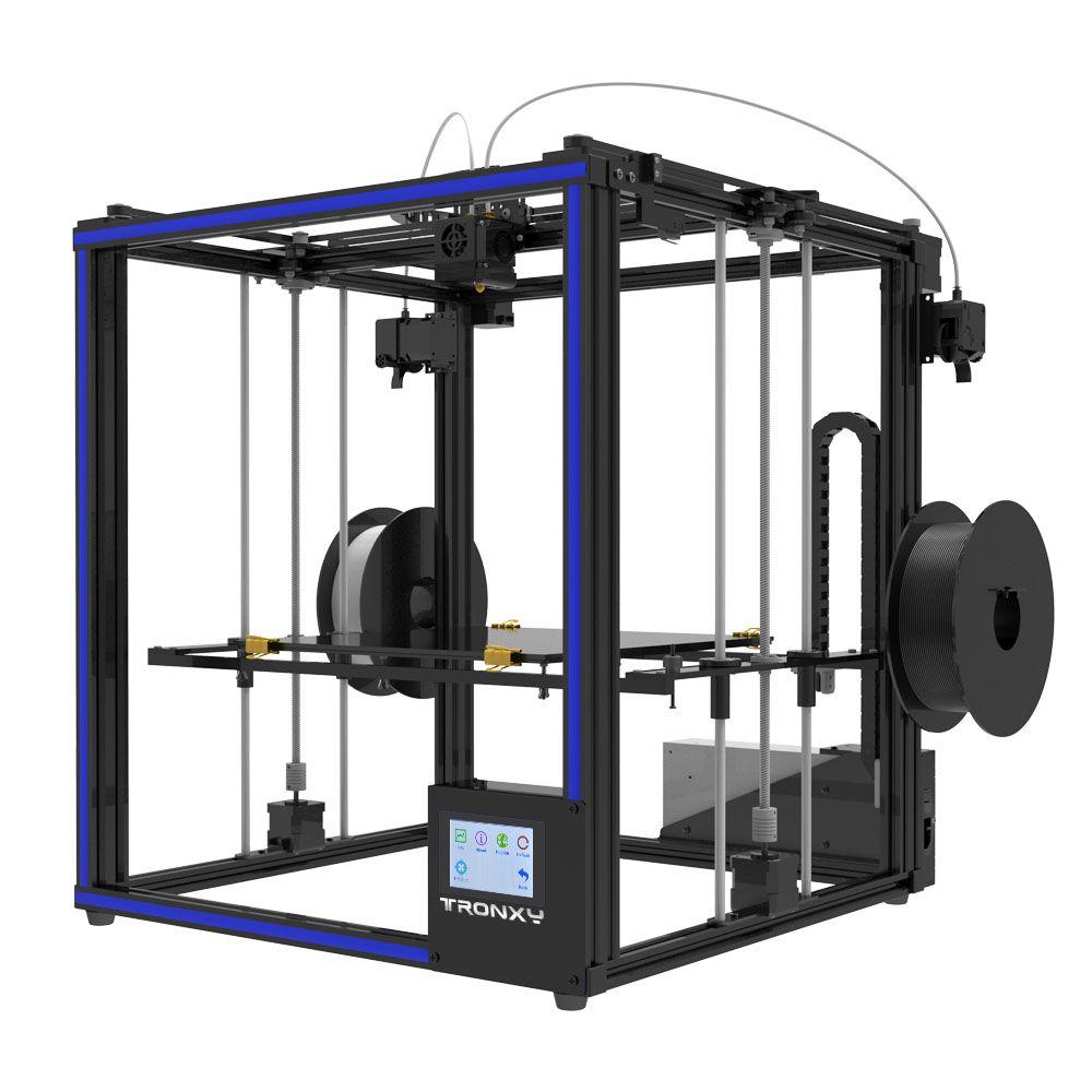 Tronxy Dual Extruder 2 in 1 heraus 3D Drucker Multi farbe cyclops kopf DIY kits Nizza Upgrade für zwei farbe gradienten druck