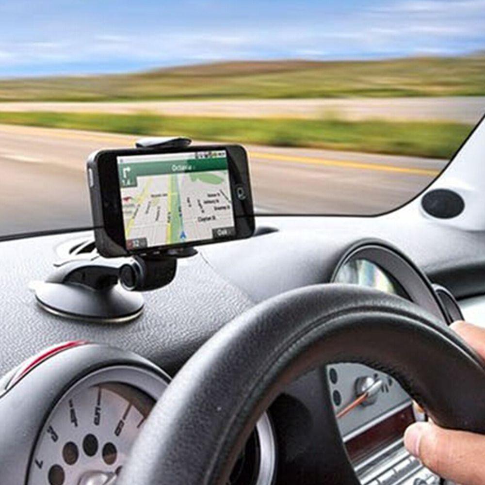 Car Dashboard Holder Mobile Phone Support Sucker Adjustable Car Phone Holder for iPhone Samsung 360 Degree Rotation 4.8-7.6cm