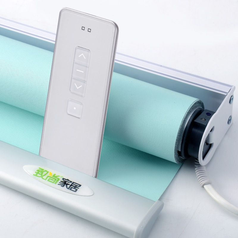Système enfichable stores électriques motorisés Auto pour la maison de bureau Smart Alexa Google Home Compatible via Broadlink