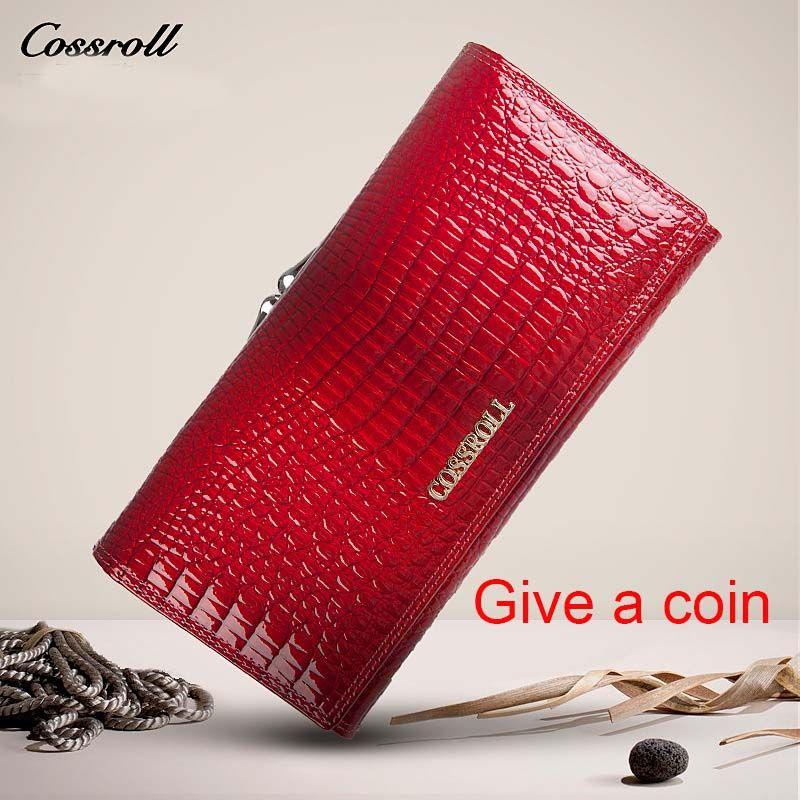 Известные бренды женские кошельки натуральная кожа Длинный кошелек Роскошные Брендовые женские бумажник из натуральной кожи портмоне