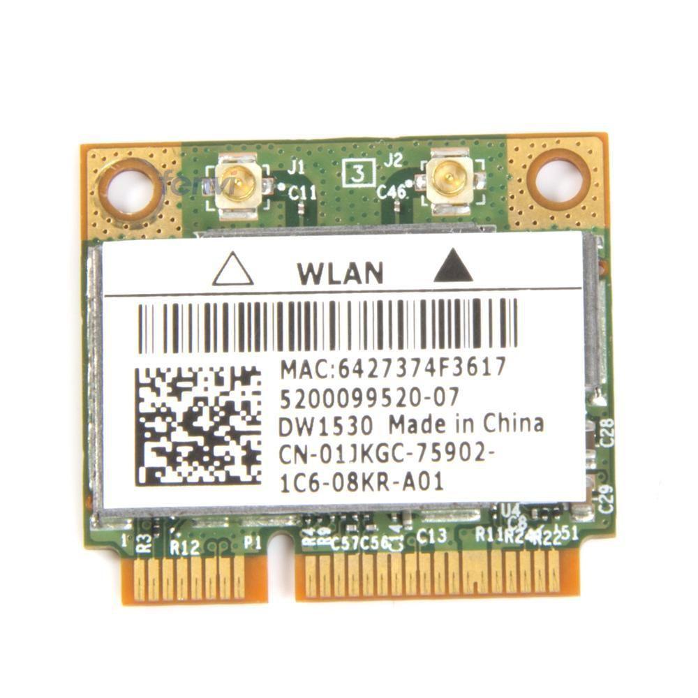 Broadcom BCM4322 Sans Fil 802.11a/b/g/n Double bande Mini Pci-e Wifi WLAN carte DW1530 pour Dell E6420 E5510 Acer Asus Dell Toshiba