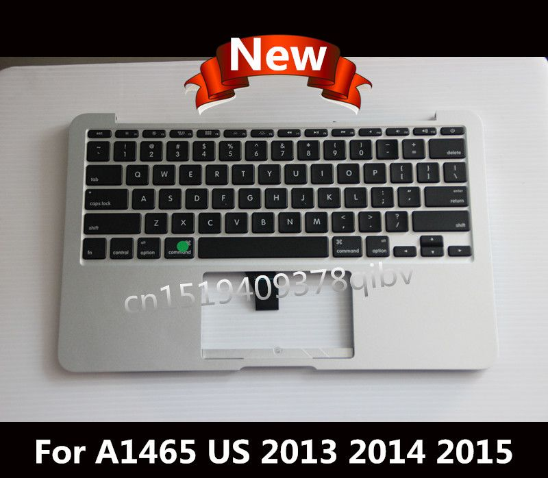 New Palmrest Topcase For Macbook Air 11.6 A1465 Top case with US keyboard no Touchpad 2013 2014 2015