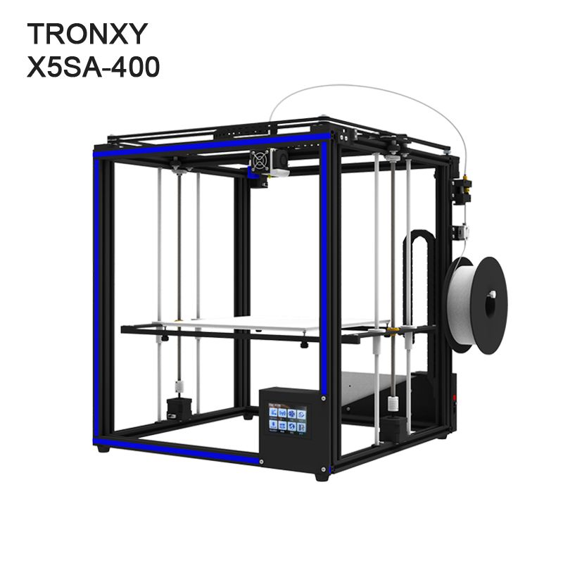 High precision Tronxy X5SA-400 3D printer large printing size 400x400x400mm