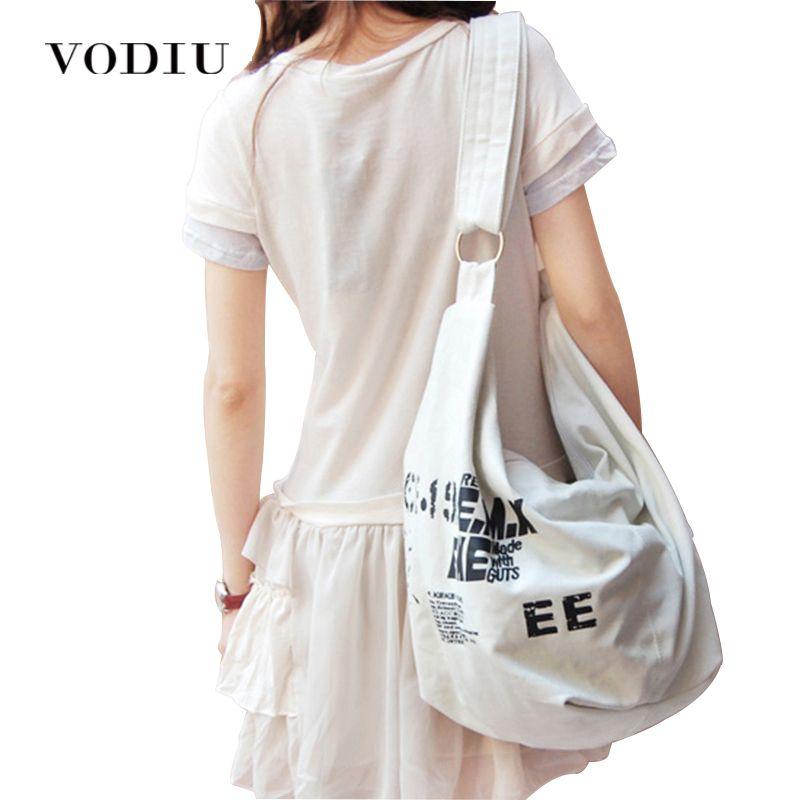 2019 noir coréen sur épaule sacs femmes femme irrégulière toile croisée corps bandoulière sacs à main sac dames N Messenger sacs