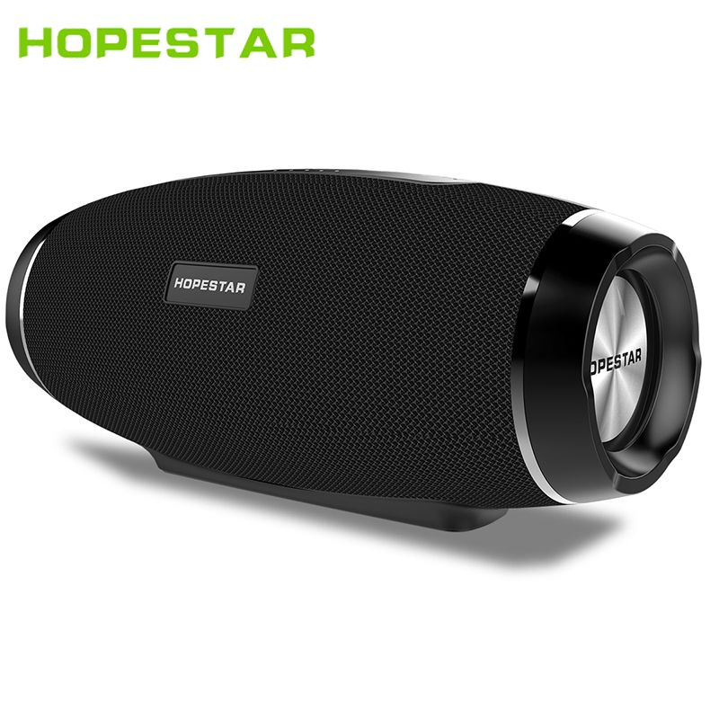 HOPESTAR H27 Rugby Wireless bluetooth speaker stereo soundbar waterproof outdoors Subwoofer Mp3 player tf usb for charge mobile