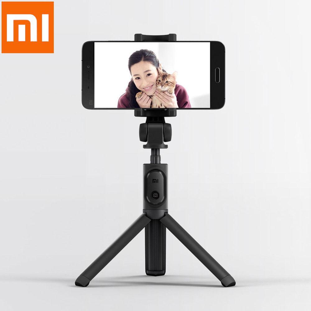 Xiaomi Selfie bâton trépied Bluetooth obturateur 3 en 1 monopode sans fil fonctionnel Portable et pliable bâton pour Smartphone