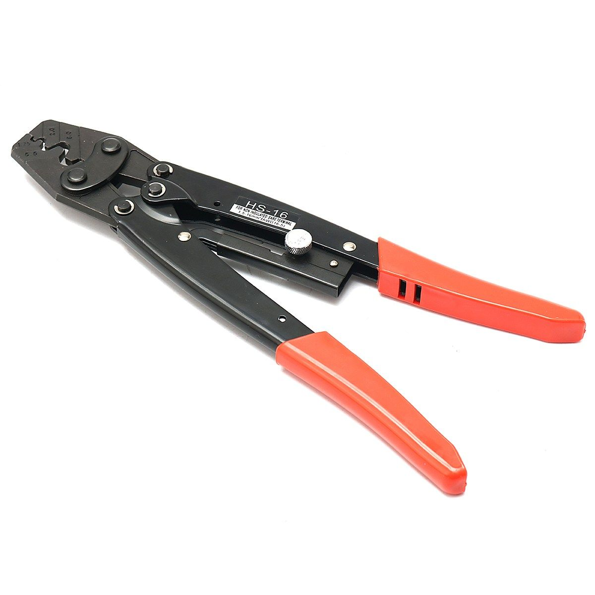 Crimping Pliers HS-16 Cable Lug Crimper Tool Bare Terminal Wire Plier Cutter 1.25-16 square millimeter