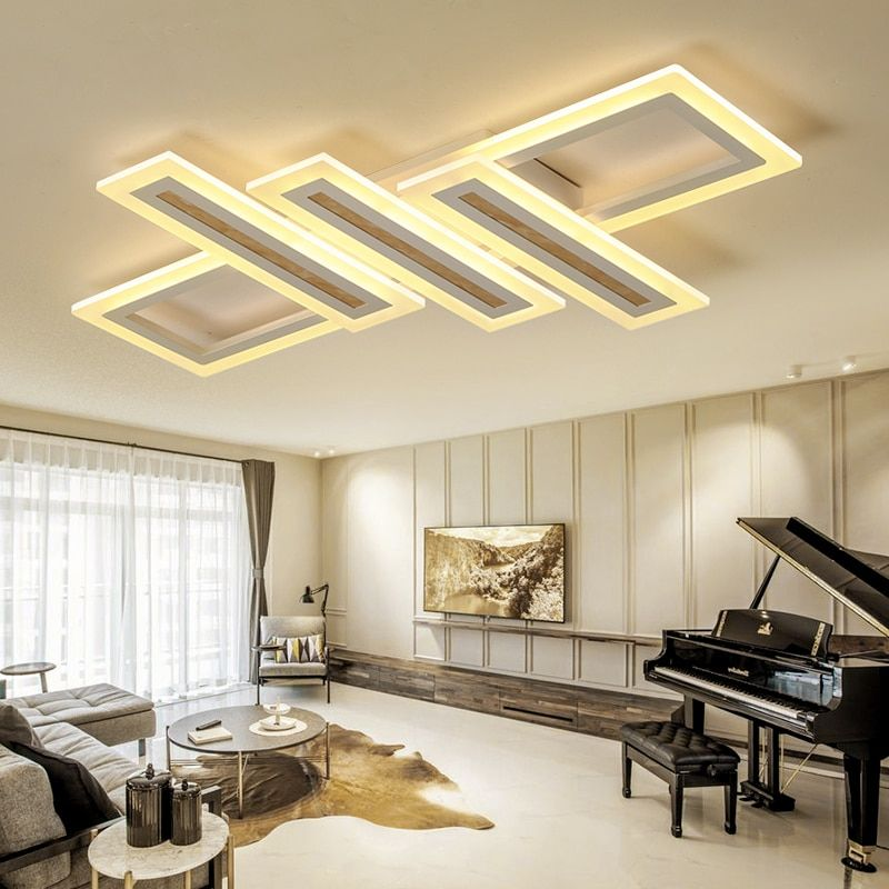 Creative Minimalism Modern led Chandelier lights for Bedroom Livingroom Ceiling Chandelier lighting lamparas de techo led la