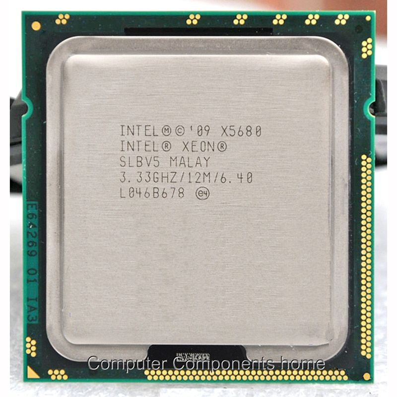 Lntel Xeon X5680 prozessor SOCKEL 1366 (3,333 GHz/12 MB/6 kerne/Buchse 1366/6. 4 GT/s QPI) geeignet X58 motherboard