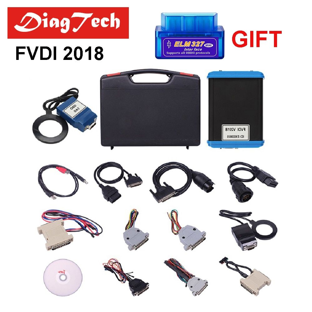 Professional FVDI 2018 Full Version With 18 Softwares Cover All Features Of V2014/2015 FVDI ABRITES Commander Key Programmer