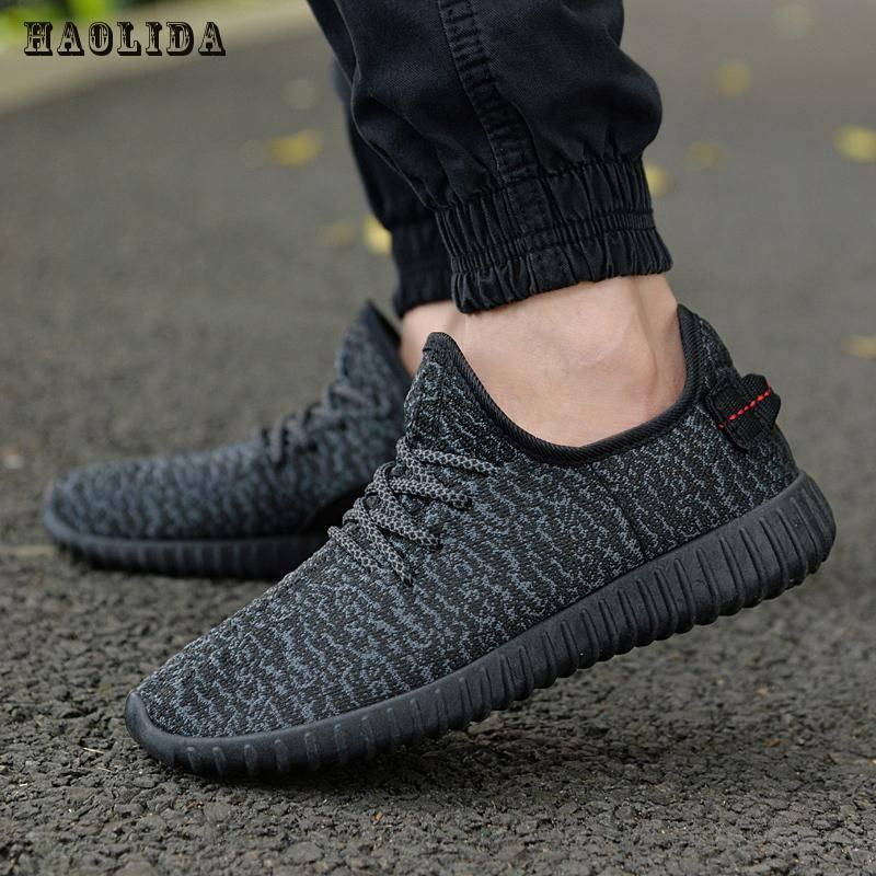 2017 New Men Summer Mesh Shoes Loafers lac-up Water shoes Walking <font><b>lightweight</b></font> Comfortable Breathable Men tenis feminino zapatos
