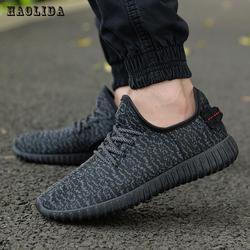 2017 nuevos hombres zapatos de malla de verano zapatillas lac-up agua zapatos para caminar los hombres respirable cómodos ligeros tenis feminino zapatos