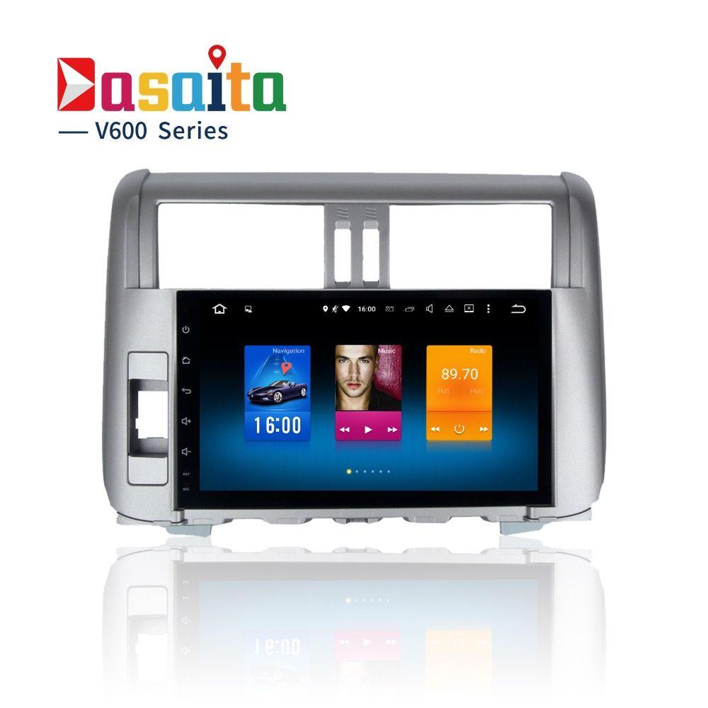 Car 2din Android GPS Navi for Toyota Prado 150 2010-2013 Land Cruiser Prado head unit multimedia 2Gb+32Gb 6.0 PX5 8-Core