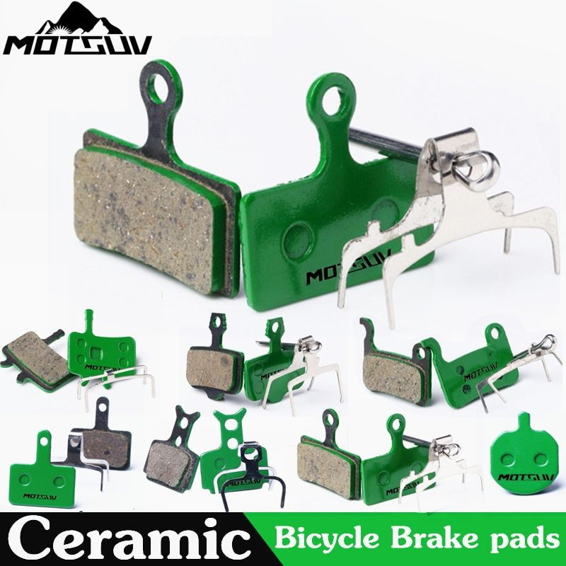 4 Pairs Bicycle Ceramics Disc Brake Pads for MTB <font><b>Hydraulic</b></font> Disc Brake SHIMAN0 SRAM AVID HAYES TEKTRO Magura Formula Bicycle Pads