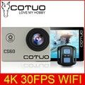 COTUO CS60 4K 30fps WiFi 16MP Action camera Ultra HD 170D 1080P 720P 120fps go 30m waterproof pro 2.0