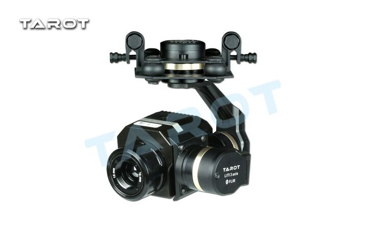 Tarot Metal TL03FLIR Gimbal Efficient FLIR Thermal Imaging Camera 3 Axis CNC Gimbal for Flir VUE PRO 320 640PRO F19797