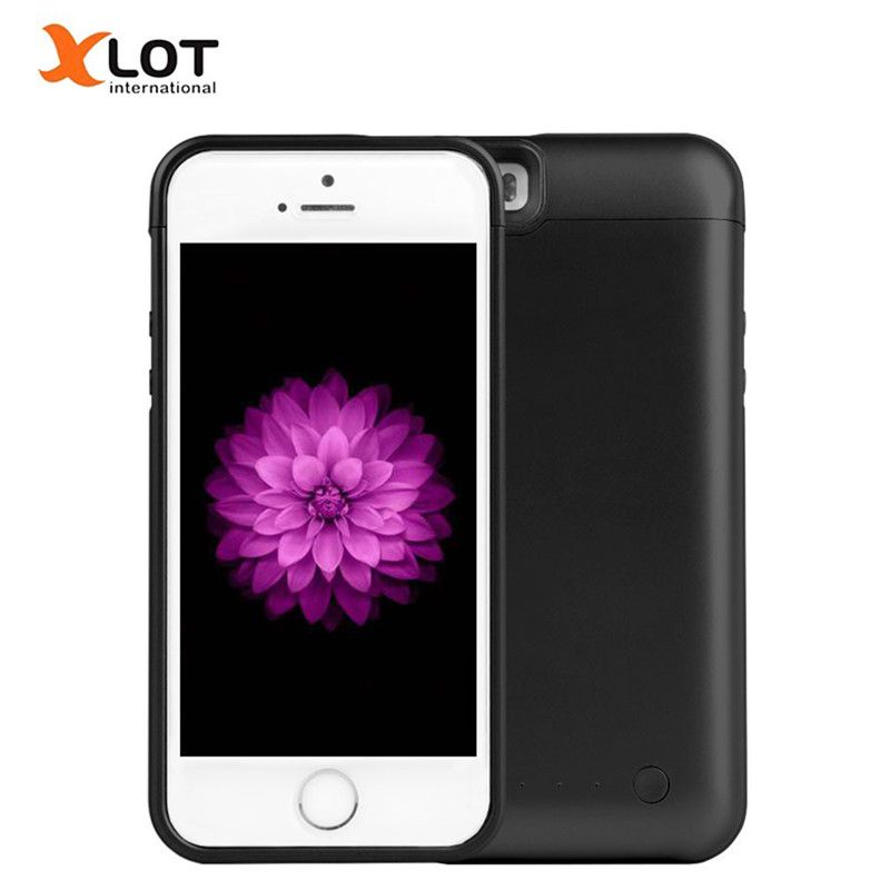 5 5S Rechargeable Power Case 4200mAh External Battery Backup Charger Case Pack Power Bank for Apple iPhone 5 5s 5c SE
