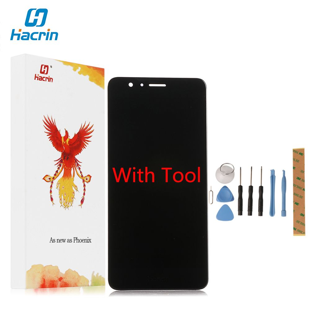 Hacrin For Huawei Honor 8 Lcd Display+Touch Screen 100% New 5.2 Inch Display Digitizer Glass Screen Panel For Huawei Honor 8