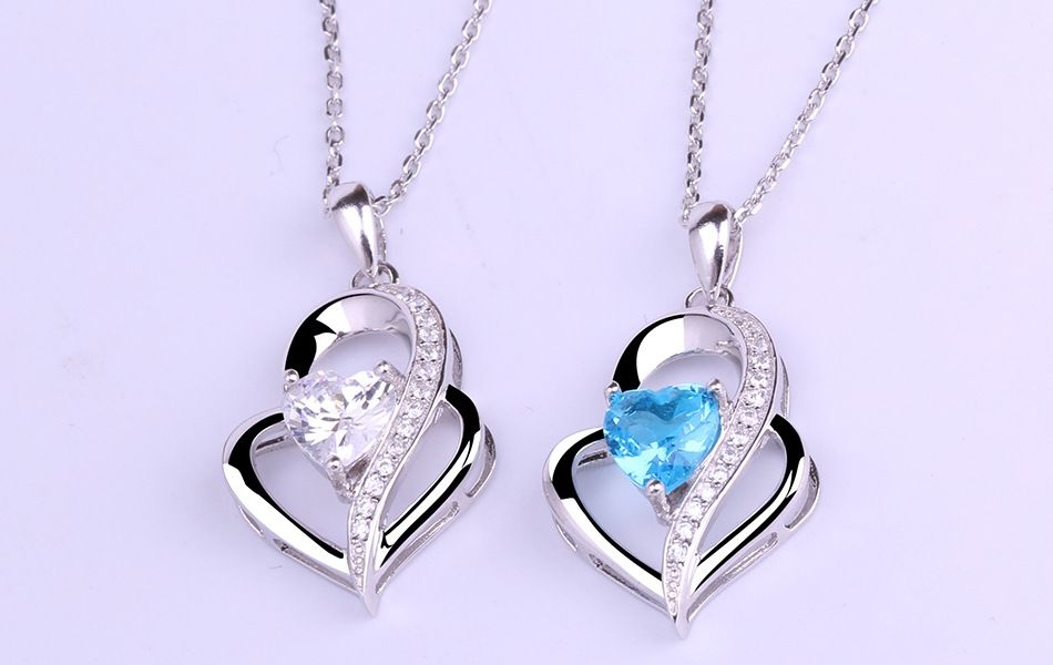 ZTUNG gcbl15 Commission Classic for Necklace have silver color and many colors about 45cm have with package good gift