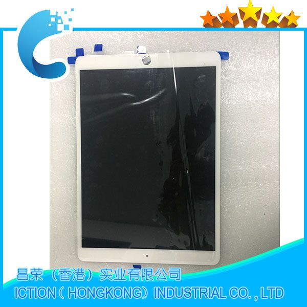 Original LCD Assembly For iPad Pro 10.5 A1709 A1701 LCD Assembly Screen Display Touch Panel White EMC 3140 EMC 3141