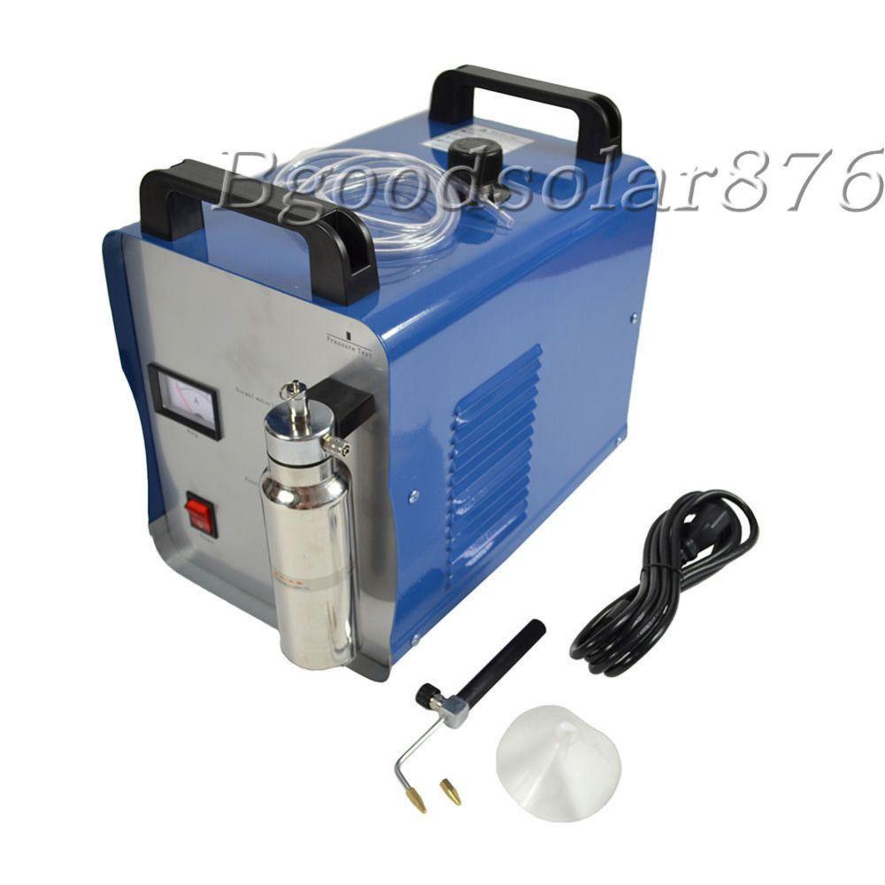 New 220V Oxygen Hydrogen Water Flame Jewelry Polisher Acrylic Flame Welder 75L