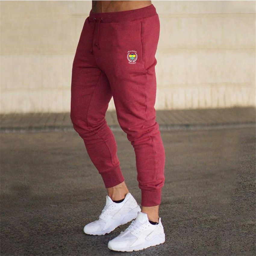 2019 Thin Men Letter Print Sweatpants Joggers Male Calca Masculina Hip Pop Casual Trousers Jogger Track Pants Clothes