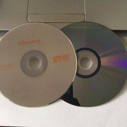 5 discs Less Than 0.3% Defect Rate Grade A 4.7 GB Blank Printed DVD+RW Disc