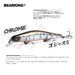 Bearking 11 см 17 г магнит вес системы длинное литье новая модель рыболовные приманки жесткая приманка погружение 0,8-1,2 м качество воблеры гольян