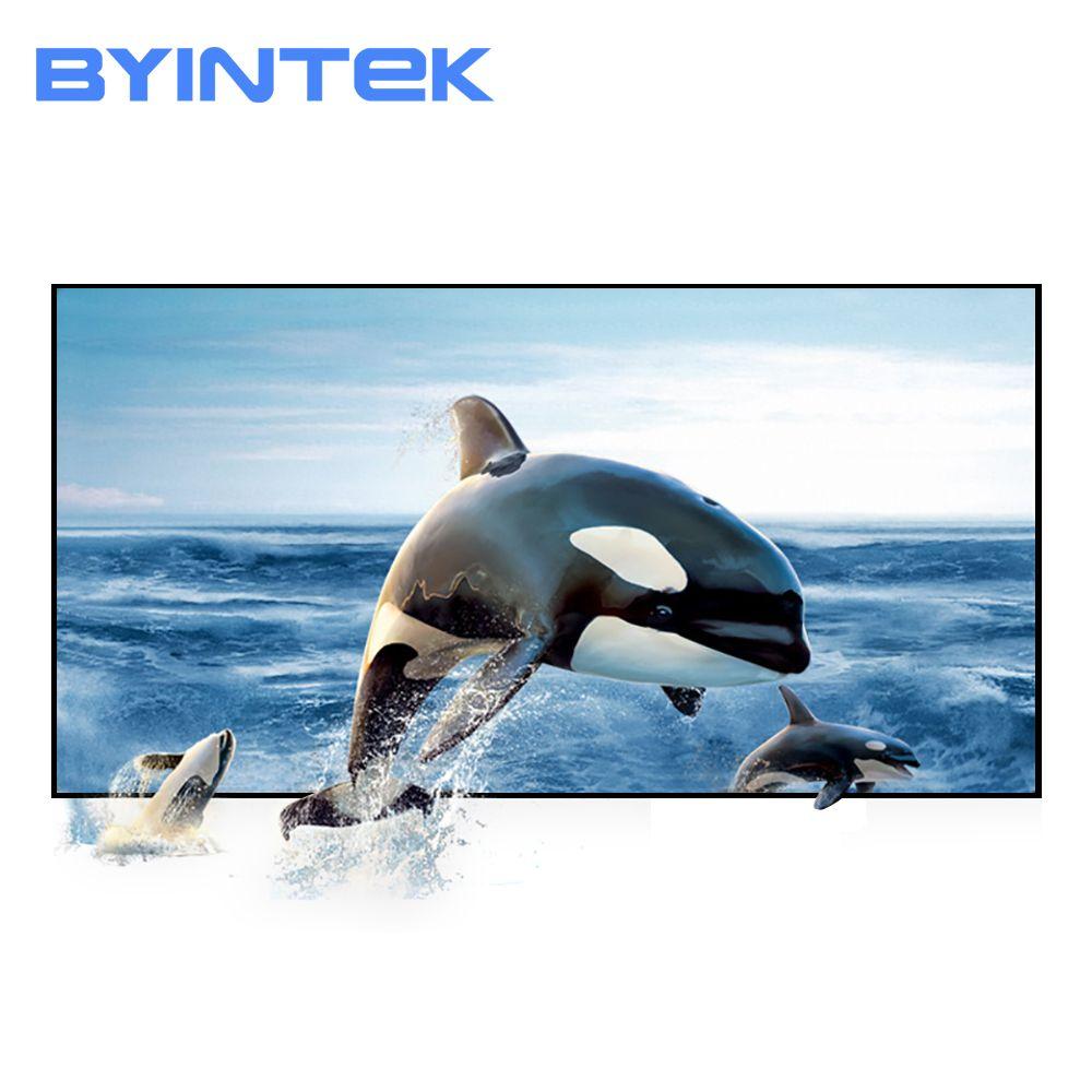 BYINTEK Projektor Bildschirm 60 72 100 120 130 zoll Projektion Bildschirm Für GP70 K1Plus K2 K7 K11 M7 BT96plus P8I MD322 R15