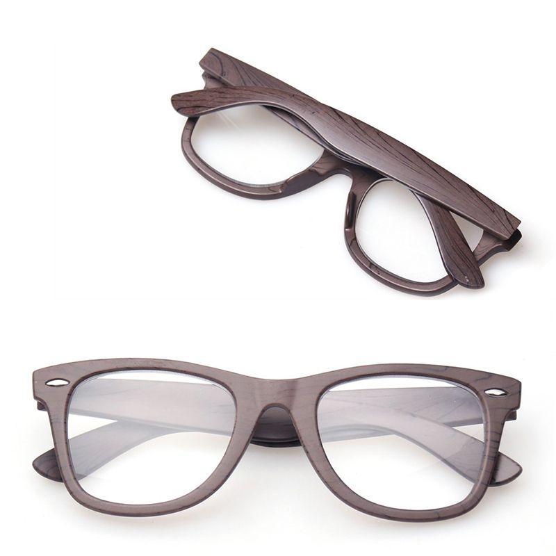 Lunettes de lecture Design élégant qualité mode bois-look hommes et femmes lunettes pour lire + 100/+ 150/+ 200/+ 250/+ 300/+ 350/+ 400/+/+