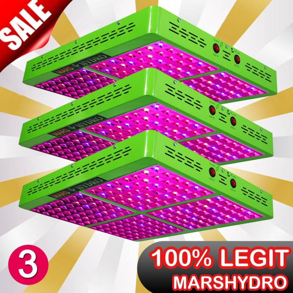 3PCS Reflector 960W Full Spectrum LED Grow Light Indoor Plant for Indoor Garden Hydroponics Greenhouse
