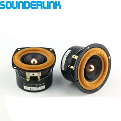 2PCS/LOT Sounderlink AudioLabs 3 inch Full Range frequency Speaker unit with tweeter Medium and bass bullet arrow transducer