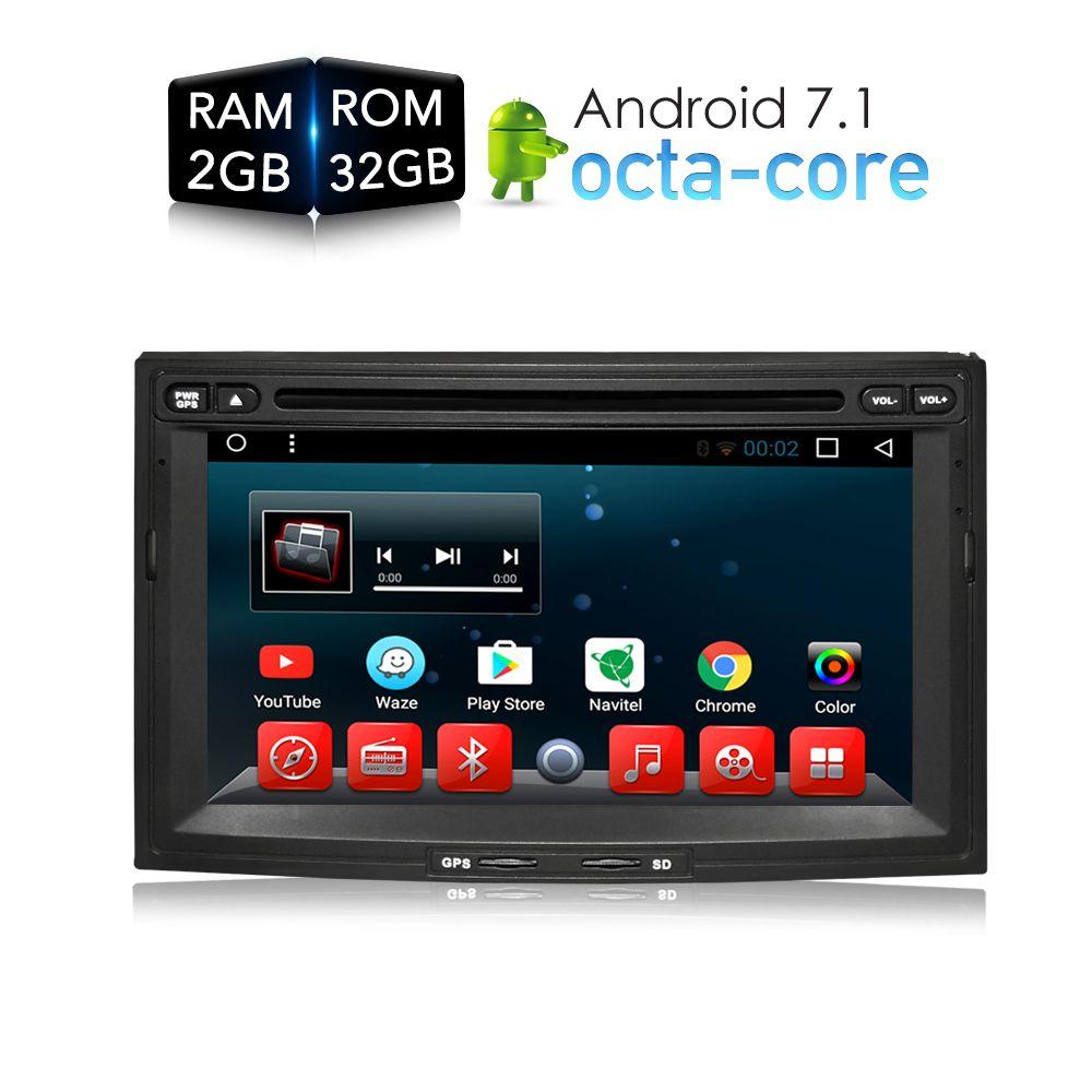 Android 7.1.1 Car DVD Player GPS Glonass Navigation multimedia for Peugeot 3008/5008/Partner Citroen Berlingo RDS Radio Stereo