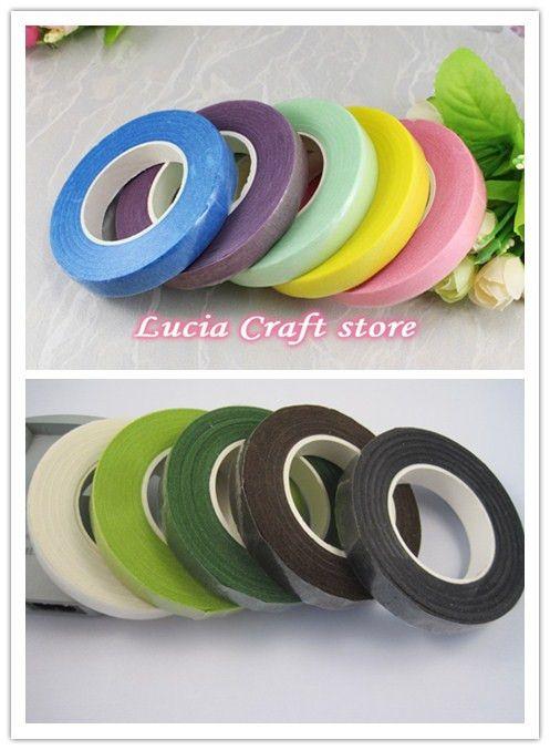 5 Colors Mix Paper Tape For florist Accessories DIY(5pcs/bag) D006012(1)