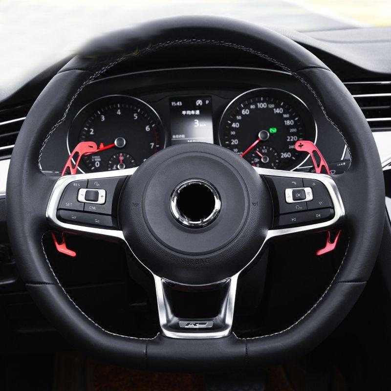 Lenkrad schaltwippen für VW Tiguan MK2 R linie/GOLF GTI MK7/GOLF R MK7/GOLF GTD MK7/GOLF GTE/passat B8 R linie