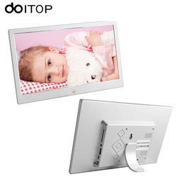 DOITOP 10 inch LED LCD Digital Photo Frame Ultrathin HD Electronic Frame Album MP3 Music MP4 Movie Player with Remote Control C4