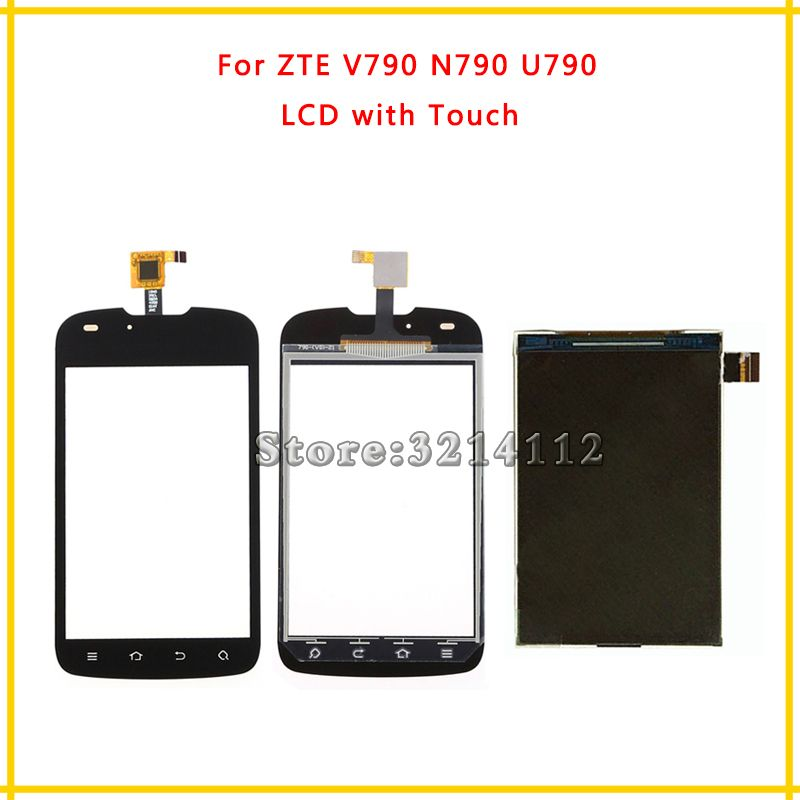 Replacement LCD Display Screen or Touch Screen Digitizer Sensor For ZTE V790 N790 U790 + Tracking Code