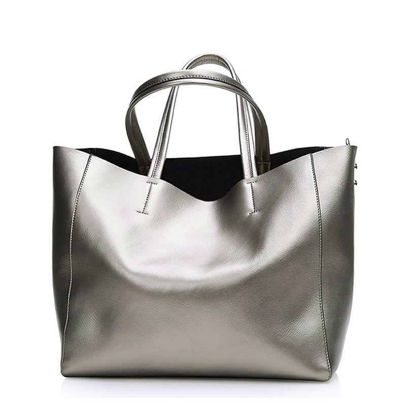 Bolsas Silver Luxury <font><b>Famous</b></font> Brand Women Messenger Bags Handbags Women <font><b>Famous</b></font> Brands Gold Women Leather Handbags Sac A Main Tote