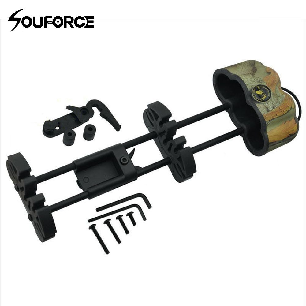 5-Arrow Quiver Archery Fully Adjustable Arrow Quiver Arrow Quiver Arrow Holder for Compound Recirve Bow Hunting Free Shipping