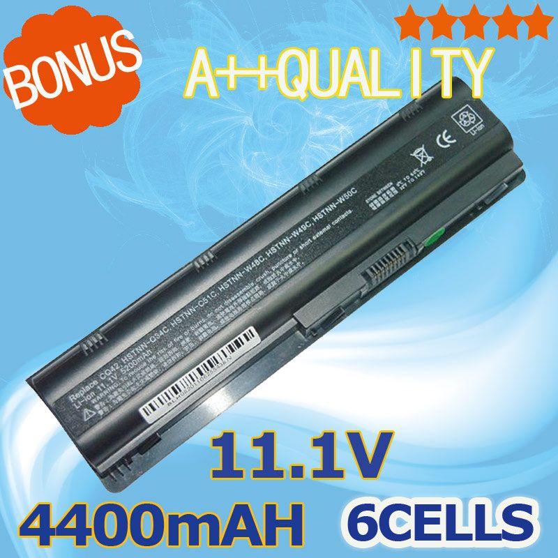 11.1 v Batterie pour HP Pavilion G6 DV3 DM4 DV5 DV6 DV7 G4 G7 635 pour Compaq Presario CQ42 CQ72 MU09 MU06 593553-001 593554-001
