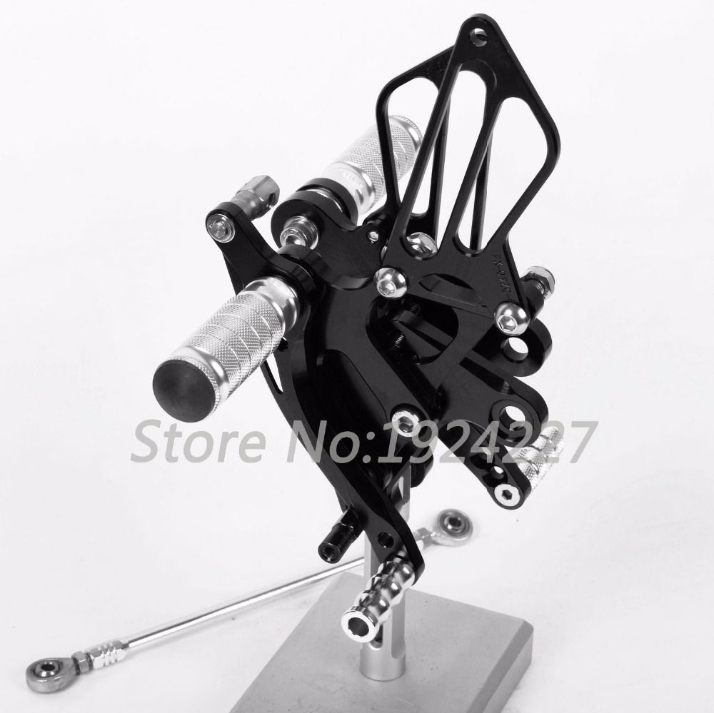 CNC Foot Pegs Rearsets Rear Sets Brake Shift Motorcycle For Kawasaki ZX14RZ/ZZR1400 2006-2015 8 Color Hot Sale High-quality