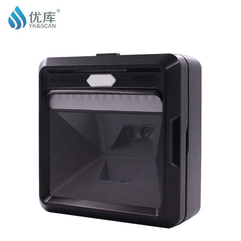MP8000 Best 2D QR 1D presentation scanner retail superme USB desktop scanner omni scanner omnidirectional barcode scanner
