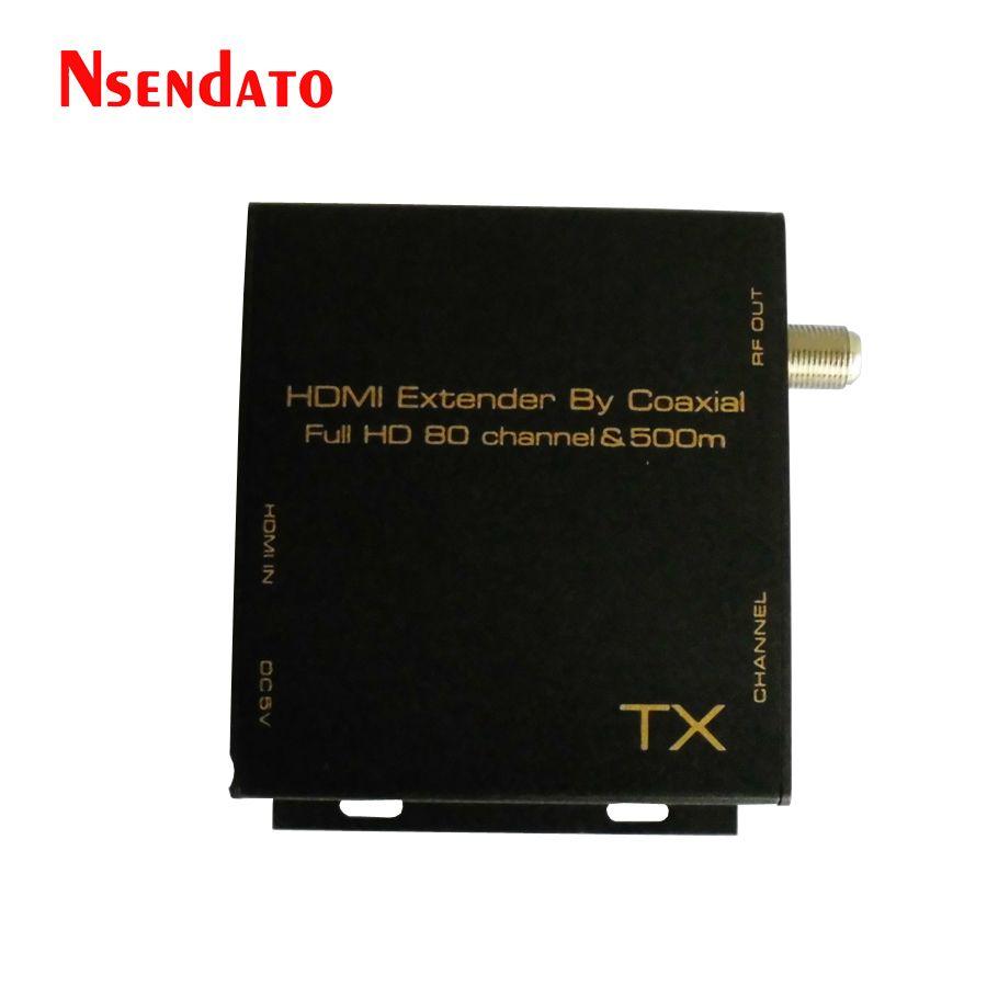 HDMI DVB-T Modulator HDMI Extender signal digital DVB-T HDMI V-dvb-t-modulator TV Receiver Unterstützung Hf-ausgang