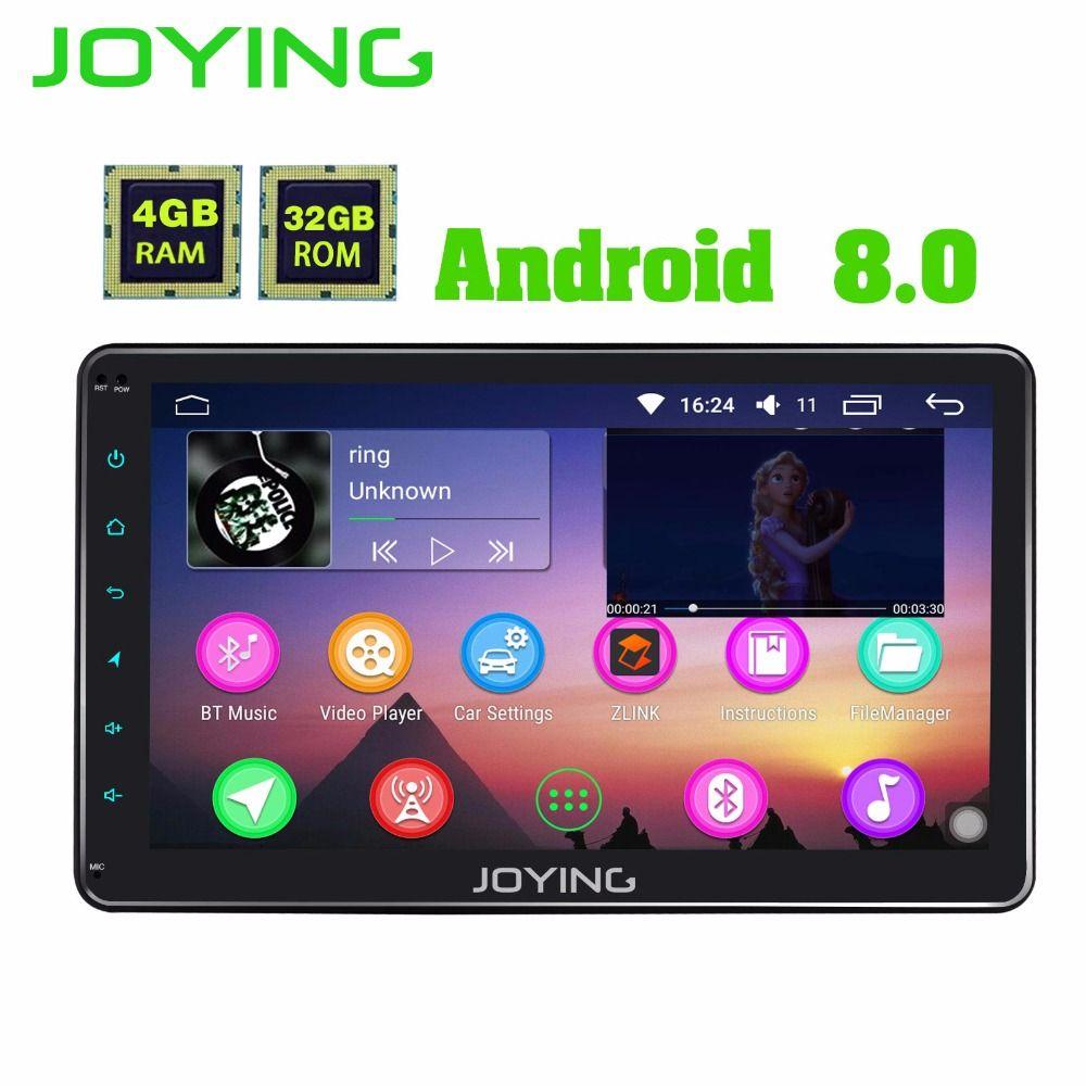 JOYING 4GB RAM Android 8.0 Car Radio GPS Stereo for POLO AMAROK GOLF PASSAT JETTA head unit with carplay for SKODA SuperB Rapid